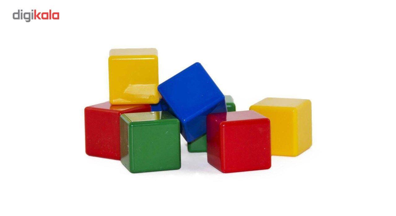 بازی آموزشی بافرزندان مدل مکعب های رنگی 8 عددی main 1 1