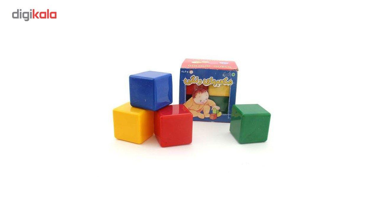 بازی آموزشی بافرزندان مدل مکعب های رنگی 8 عددی main 1 2
