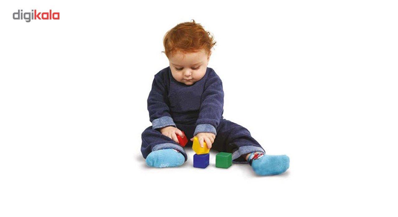 بازی آموزشی بافرزندان مدل مکعب های رنگی 8 عددی main 1 3