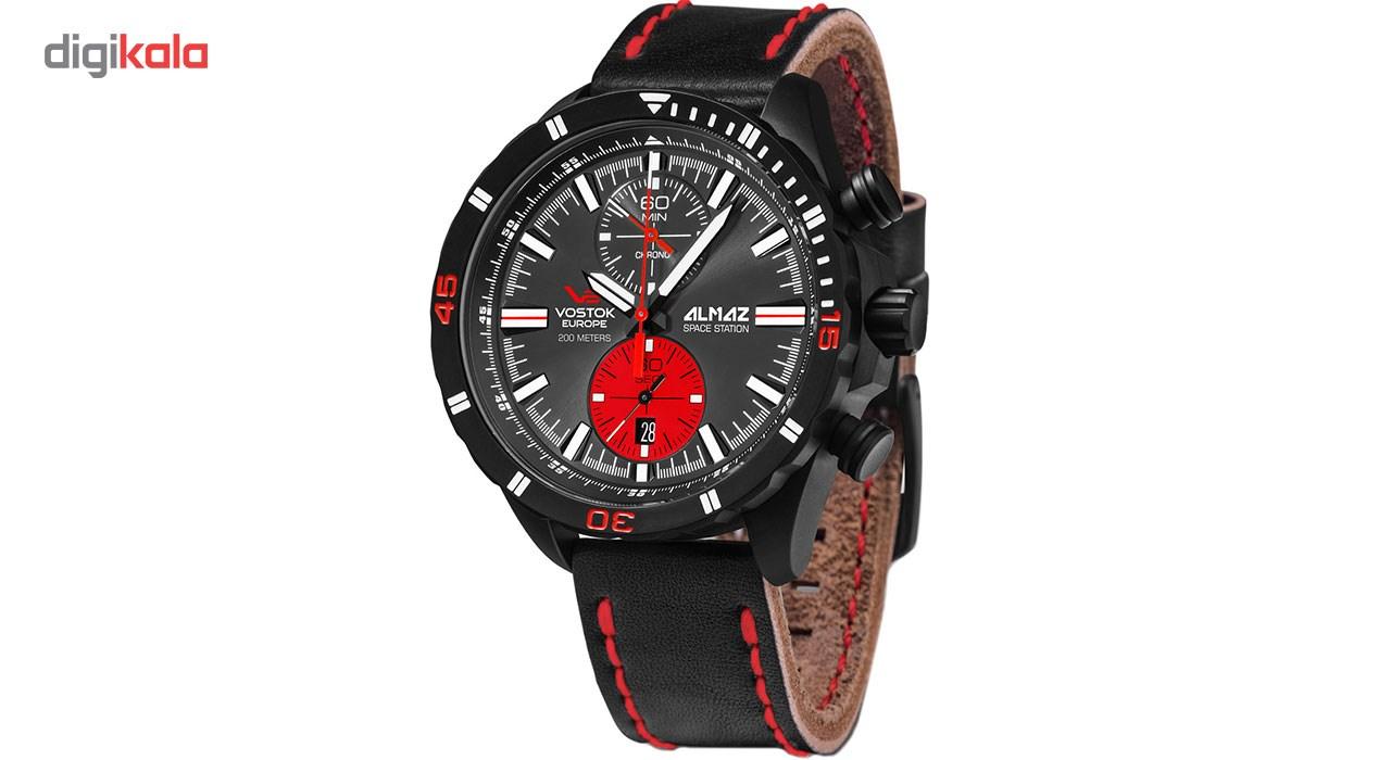 خرید ساعت مچی عقربه ای مردانه وستوک یوروپ مدل 6S11-320C260 تولید محدود