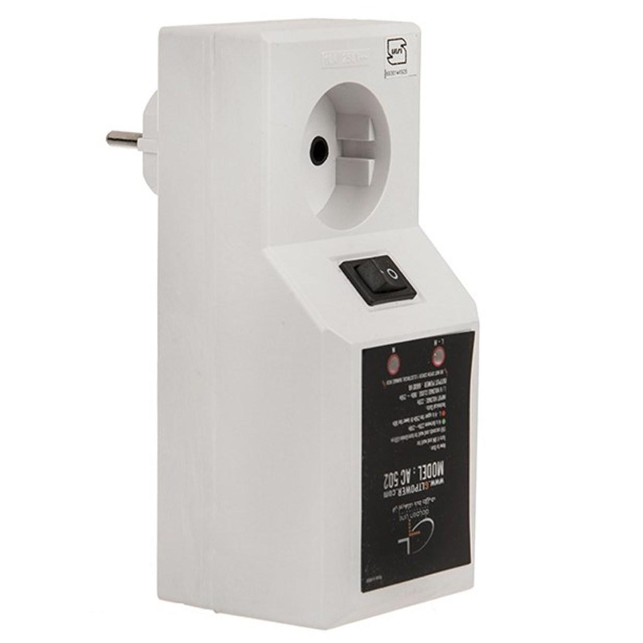 خرید اینترنتی محافظ نوسان برق گلدن لاین مدل AC 502 اورجینال