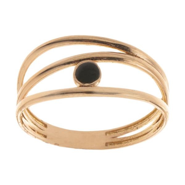 انگشتر طلا 18 عیار زنانه مایا ماهک مدل MR0594
