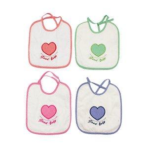 پیش بند نوزادی مدل قلب مجموعه 4 عددی