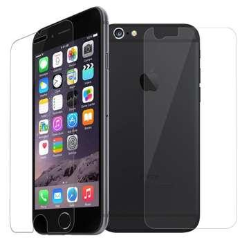 محافظ صفحه نمایش و پشت شیشه ای تمپرد مناسب برای گوشی موبایل اپل آیفون 6 / 6S