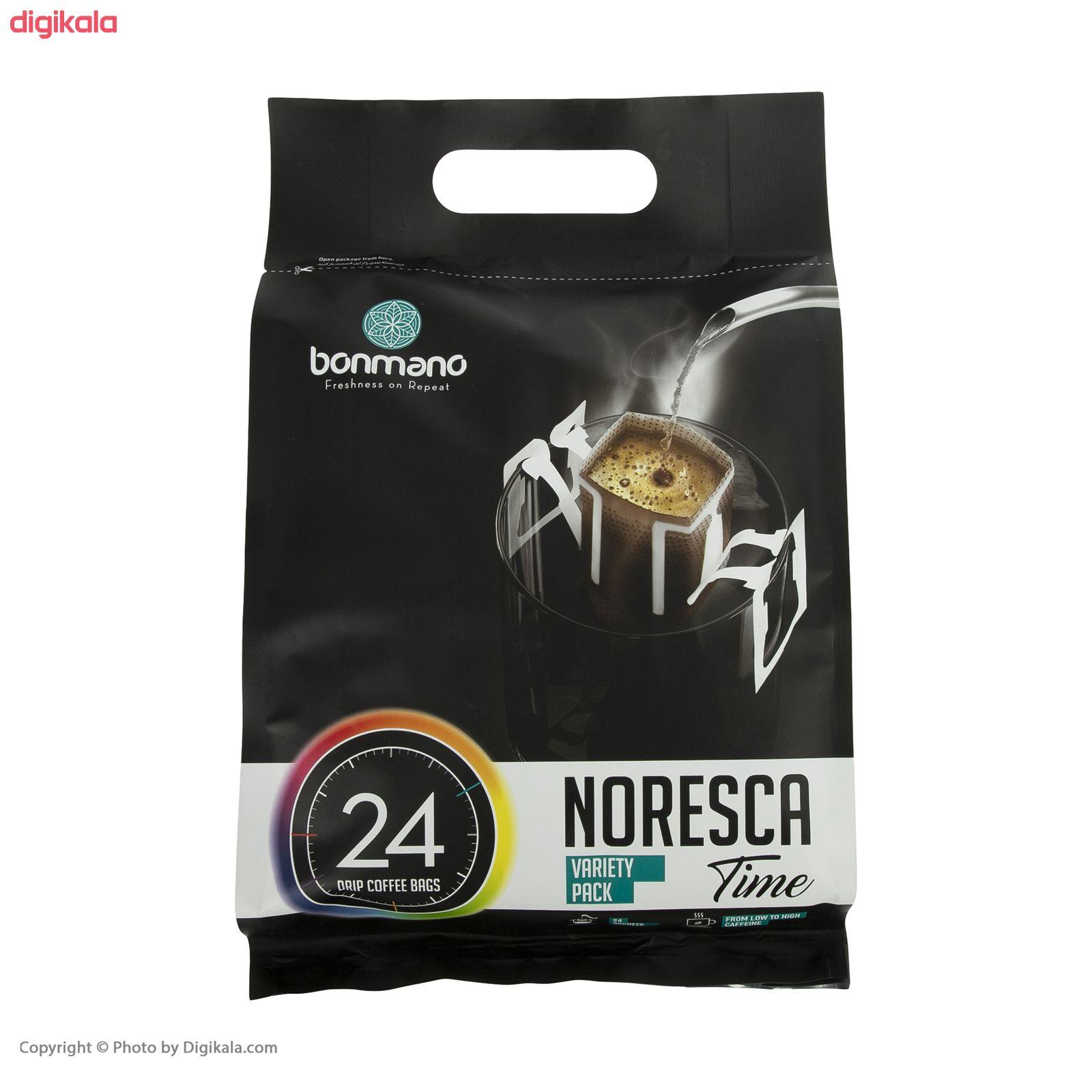 قهوه نورسکا ترکیبی بن مانو - بسته 24 عددی main 1 1