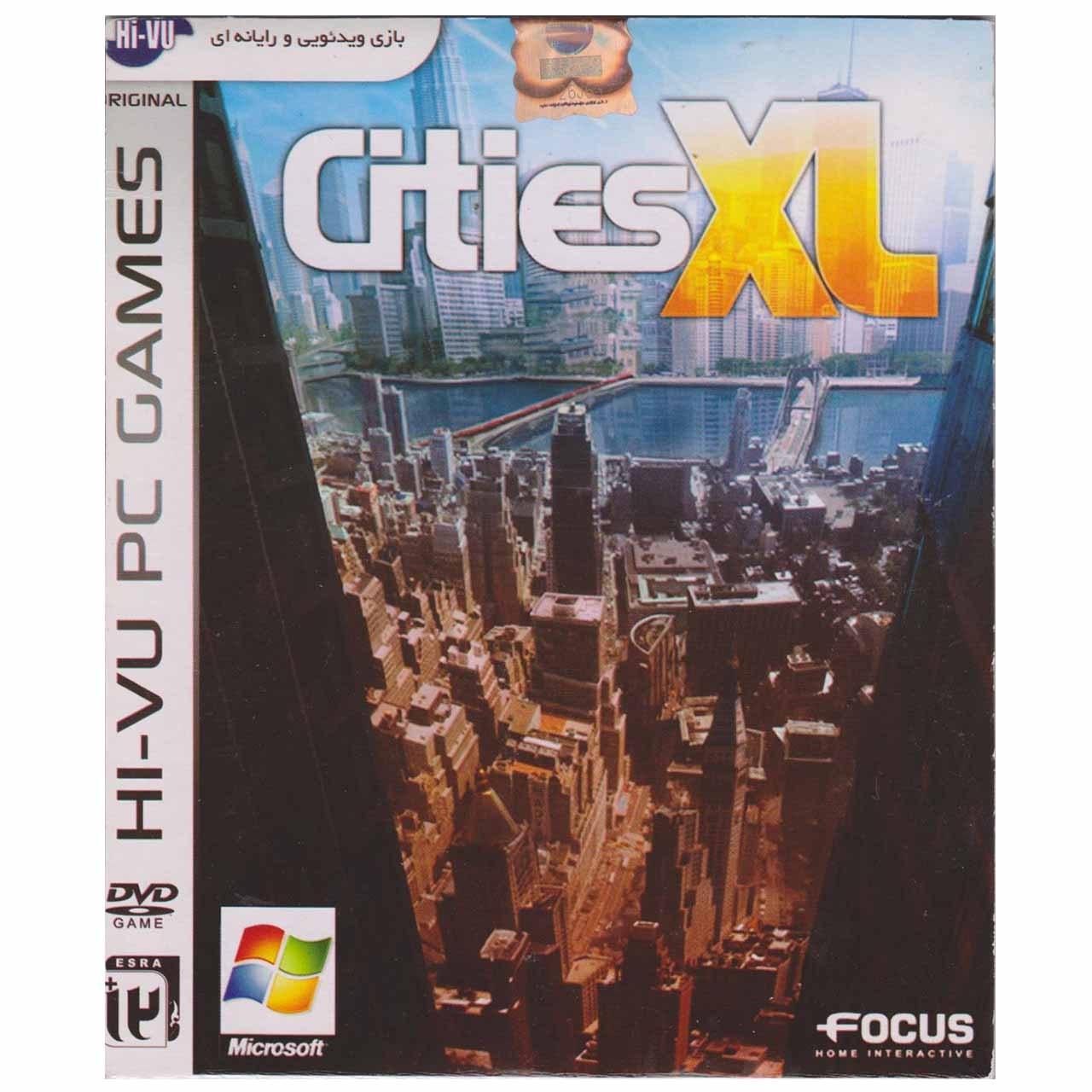 بازی Cities XL مخصوص pc
