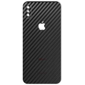 برچسب پوششی ماهوت مدل Carbon-fiber Texture مناسب برای گوشی  iPhone X