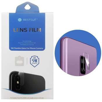 محافظ لنز دوربین بست سوت مدل TPU مناسب برای گوشی موبایل سامسونگ Galaxy S9 Plus
