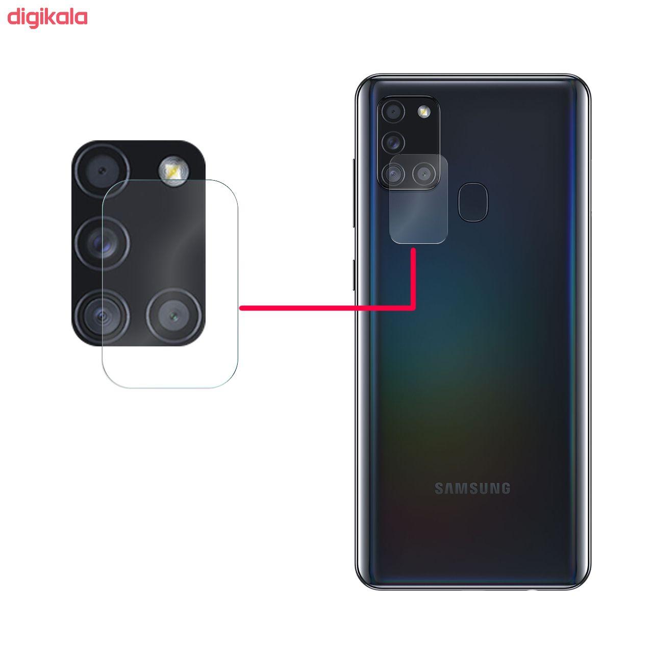 محافظ لنز دوربین سیحان مدل GLP مناسب برای گوشی موبایل سامسونگ Galaxy A21s main 1 1