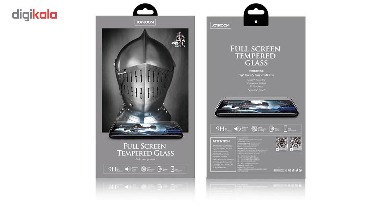 محافظ صفحه نمایش براق شیشه ای جوی روم مدل Knights مناسب برای آیفون 7/8