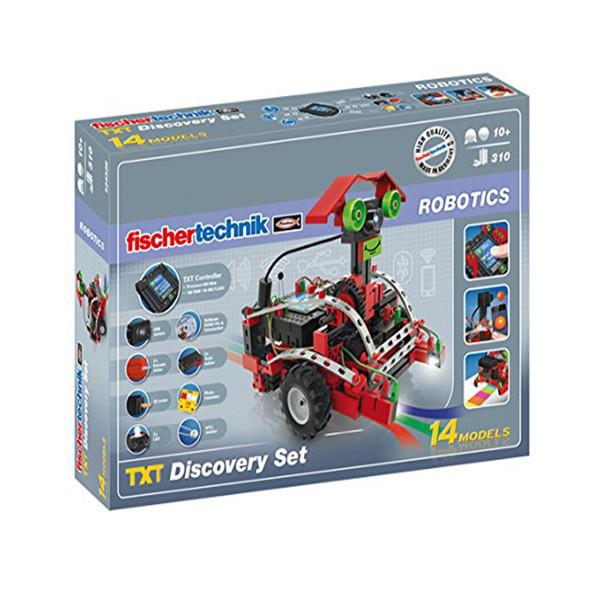 ساختنی فیشر تکنیک مدل Robotics TXT Discovery Set 524328