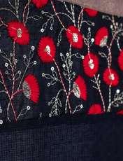 روسری زنانه کلوتو مدل فلورال -  - 2