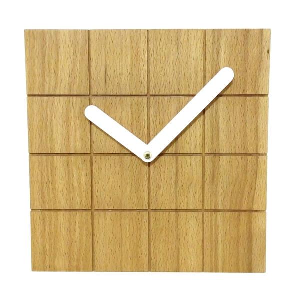 ساعت دیواری چوبی تی دار مدل Ct02