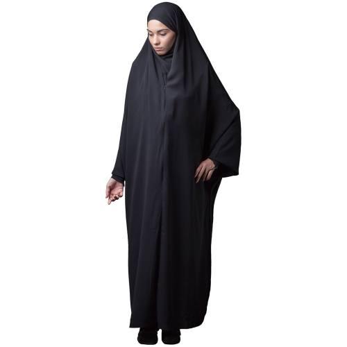 چادر  حجاب کرپ حجاب فاطمی مدل 201062ha