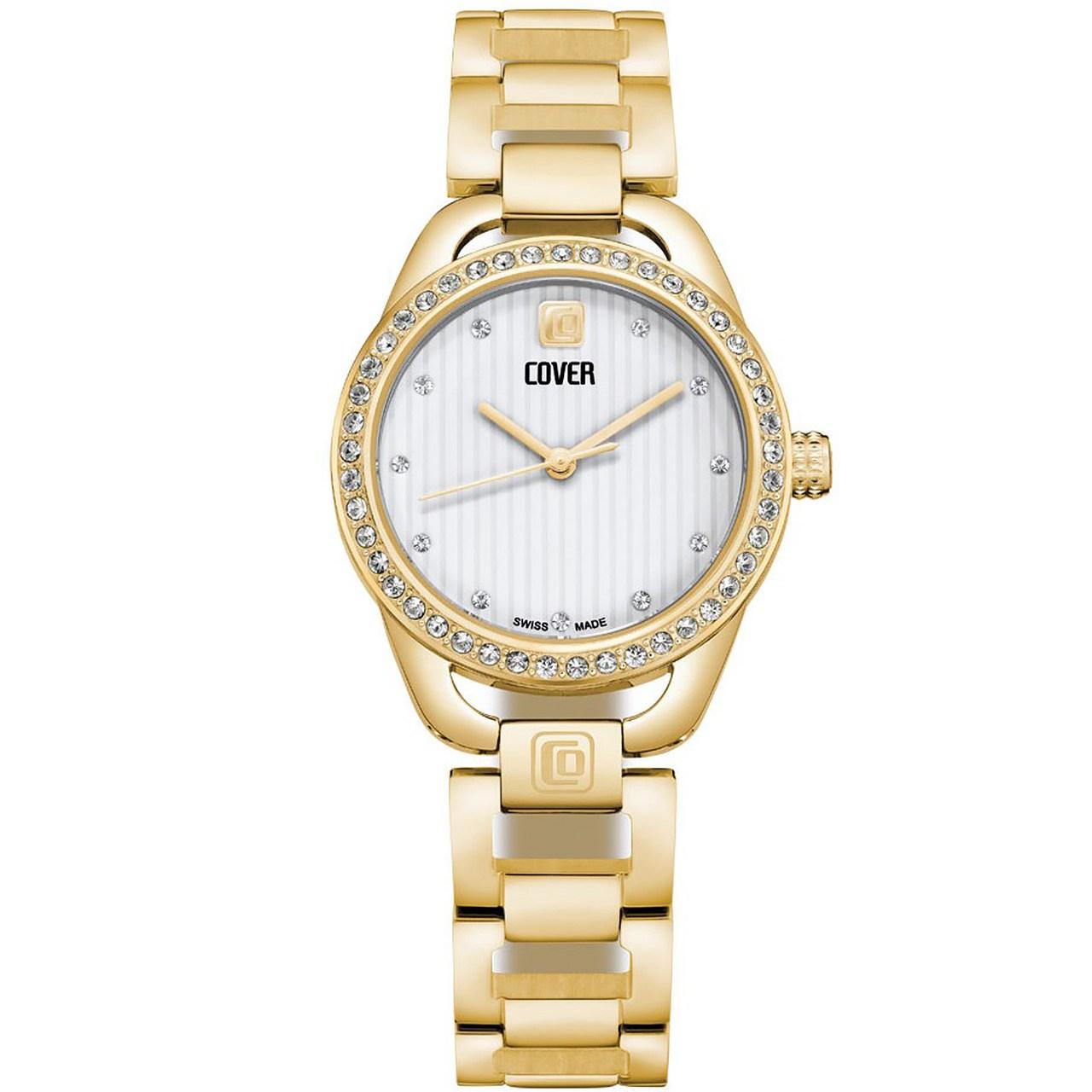ساعت مچی عقربه ای زنانه کاور مدل Co167.03