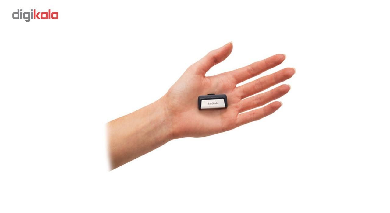 فلش مموری سن دیسک مدل Ultra Dual Drive USB Type-C ظرفیت 32 گیگابایت main 1 4