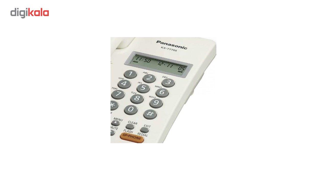 تلفن باسیم پاناسونیک مدل KX-TT7705X main 1 4