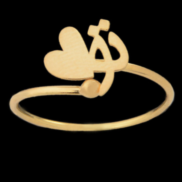 انگشتر طلا 18 عیار زنانه مدل 67137
