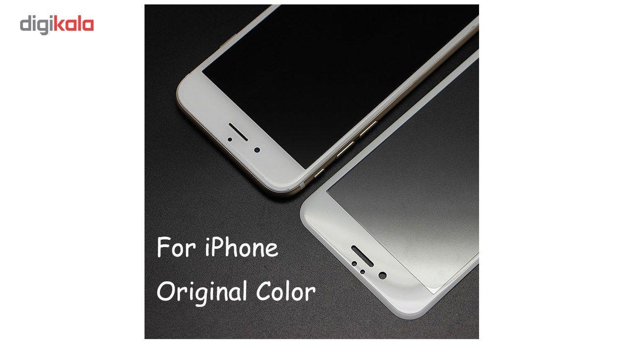 محافظ صفحه نمایش تمام چسب شیشه ای مدل 5D مناسب برای گوشی اپل آیفون 6/6s main 1 7