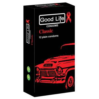 کاندوم گودلایف مدل کلاسیک classic  بسته 12 عددی