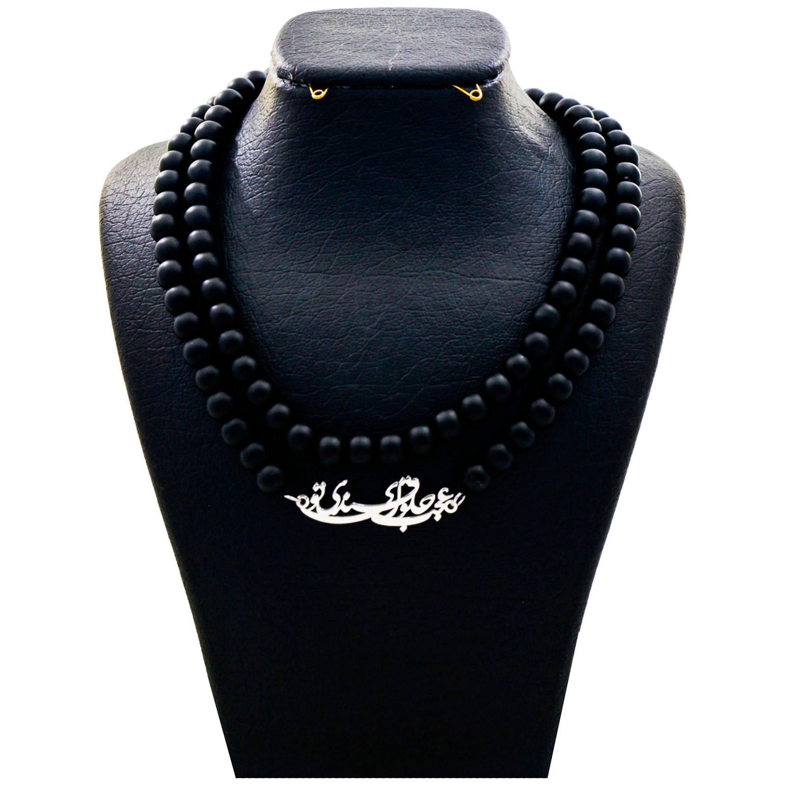 گردنبند نقره زنانه دلی جم طرح عجب حلوای قندی تو کد D 59 -  - 2