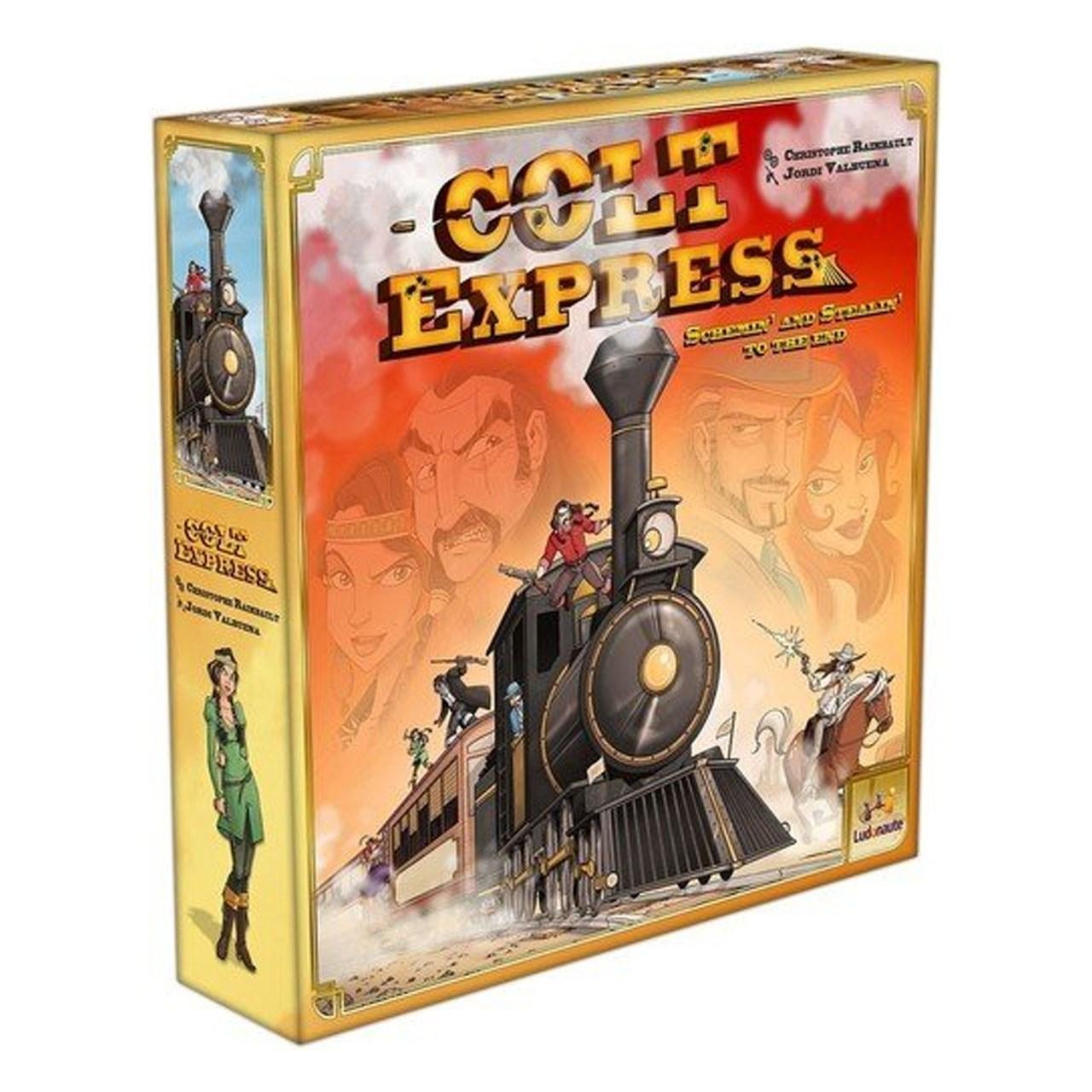 بازی رومیزی آسمودی مدل Colt Express