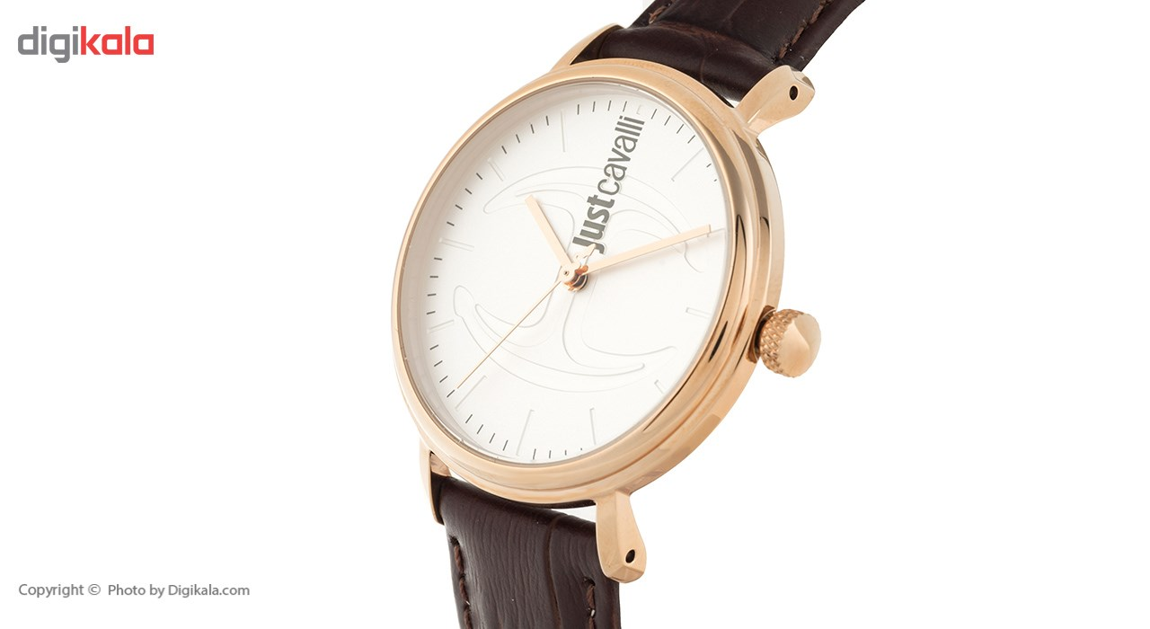 ساعت مچی عقربه ای زنانه جاست کاوالی مدل JC1L012L0045