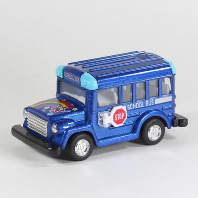 ماشین بازی طرح اتوبوس مدرسه کد 0122