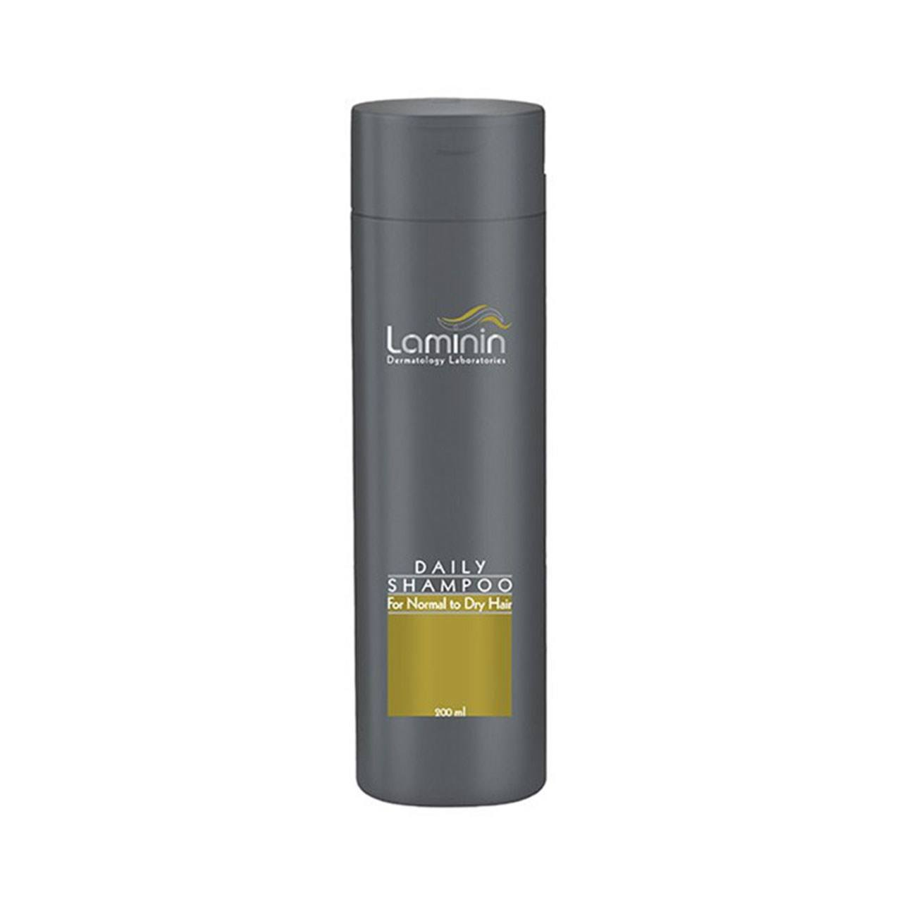 شامپو روزانه لامینین مناسب موهای معمولی و خشک حجم 200 میلی لیتر -  - 1