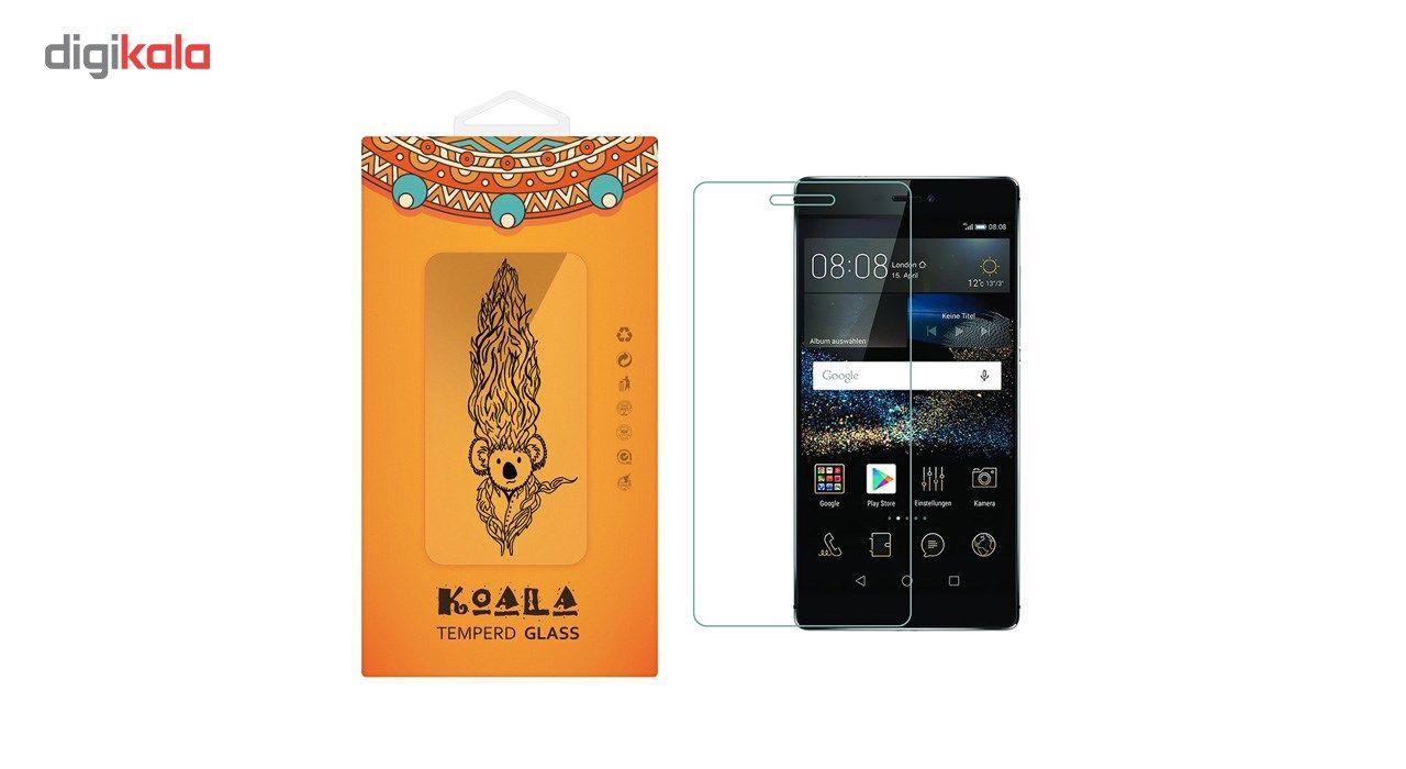 محافظ صفحه نمایش شیشه ای کوالا مدل Tempered مناسب برای گوشی موبایل هوآوی P8 main 1 1