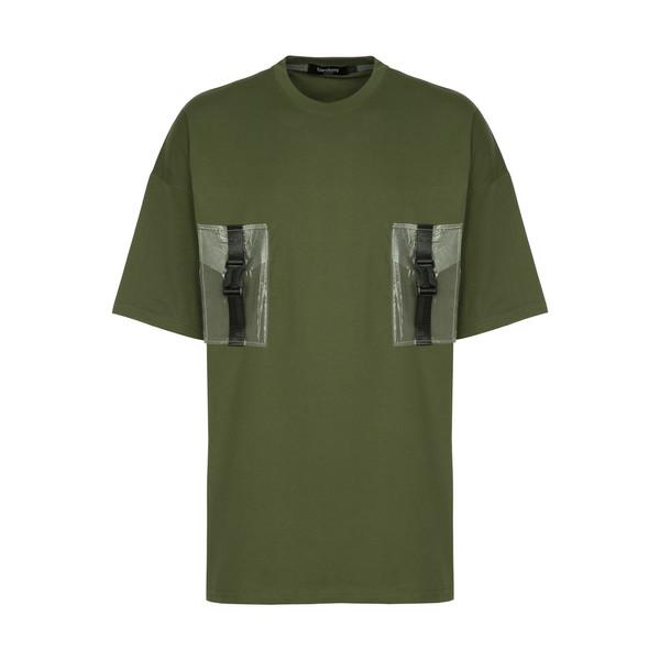 تی شرت آستین کوتاه مردانه بردامی مدل 134