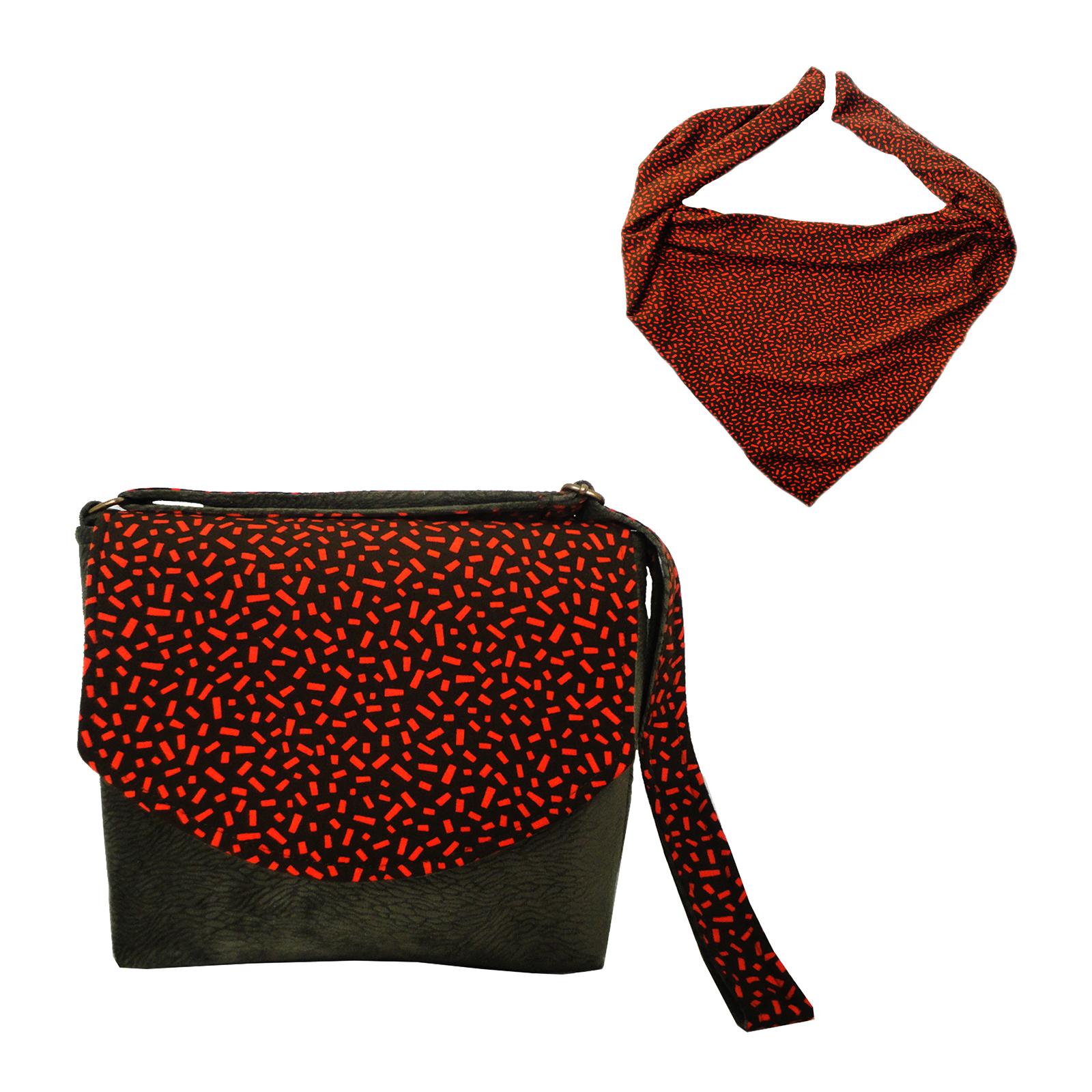 قیمت, خرید                                      ست کیف و روسری زنانه مدل 436