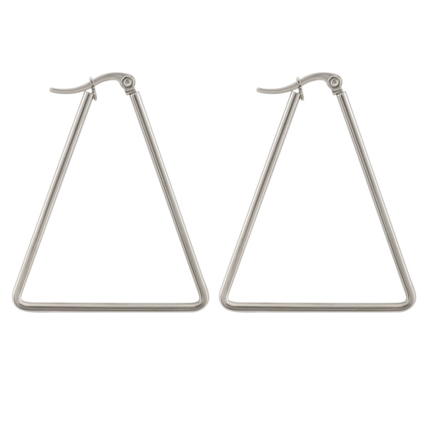 گوشواره زنانه طرح مثلث کد 1259