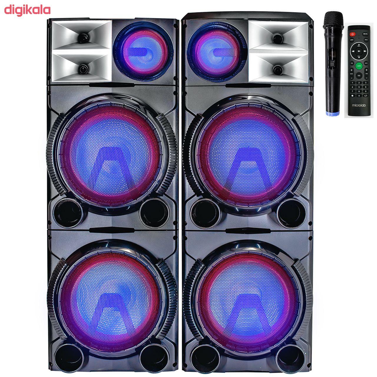 پخش کننده خانگی میکرولب مدل DJ1201SMART main 1 4