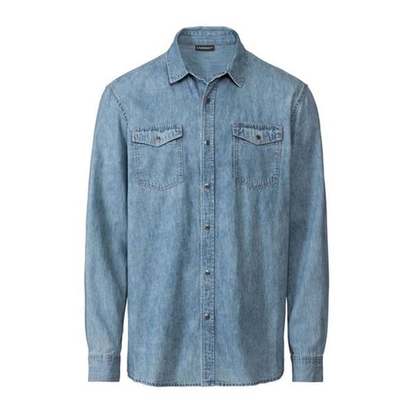 پیراهن آستین بلند مردانه لیورجی مدل 2621874