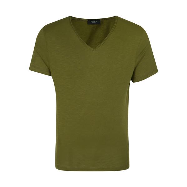 تی شرت مردانه کالینز مدل 142011102-OLIVEDRAB