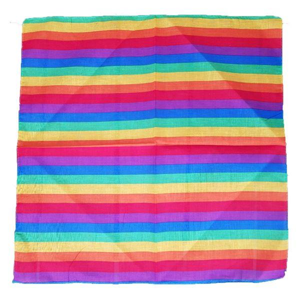 دستمال سر و گردن باندانا مدل رنگین کمان