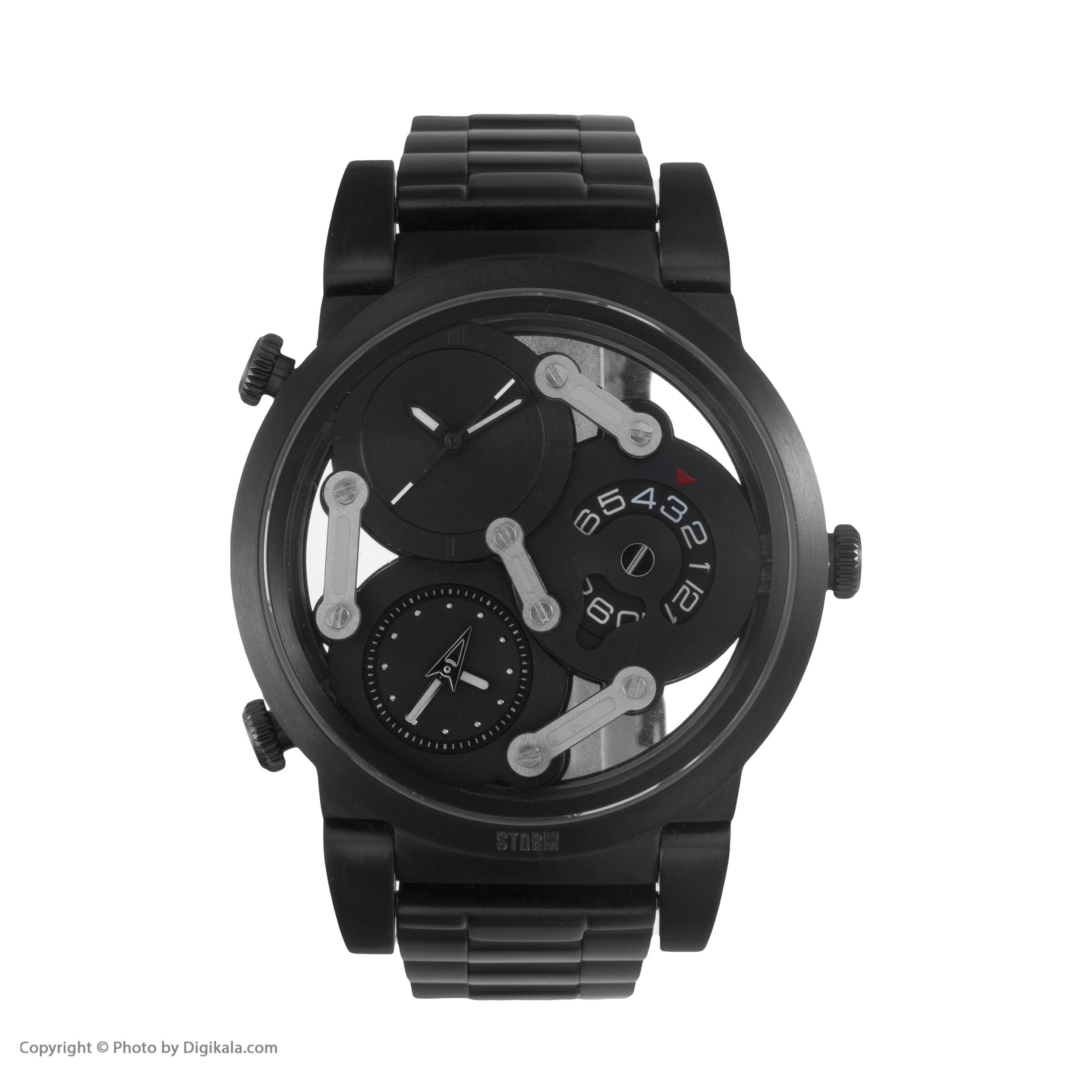 ساعت مچی عقربه ای مردانه استورم مدل ST 47236-SL