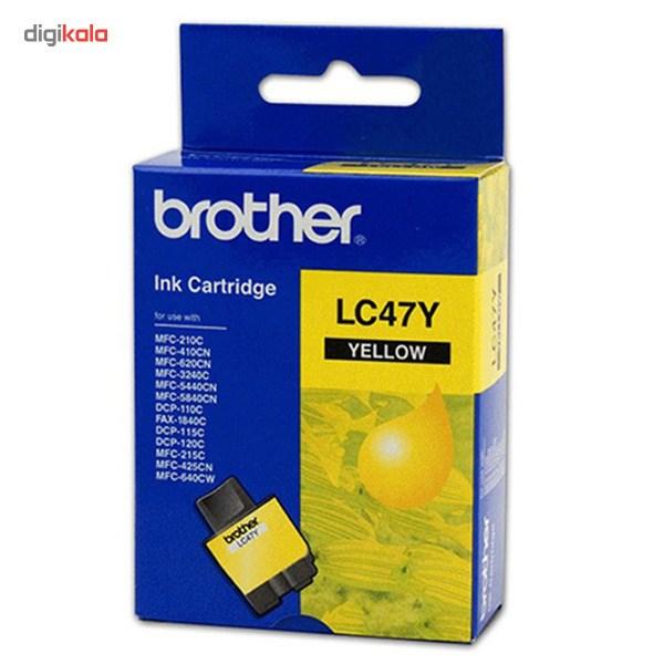 قیمت                      کارتریج پرینتر برادر LC47Y (زرد)