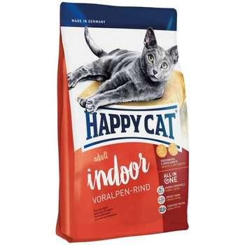 غذای خشک گربه بالغ هپی کت مدل ایندور وورالپن ریند وزن 4 کیلوگرم