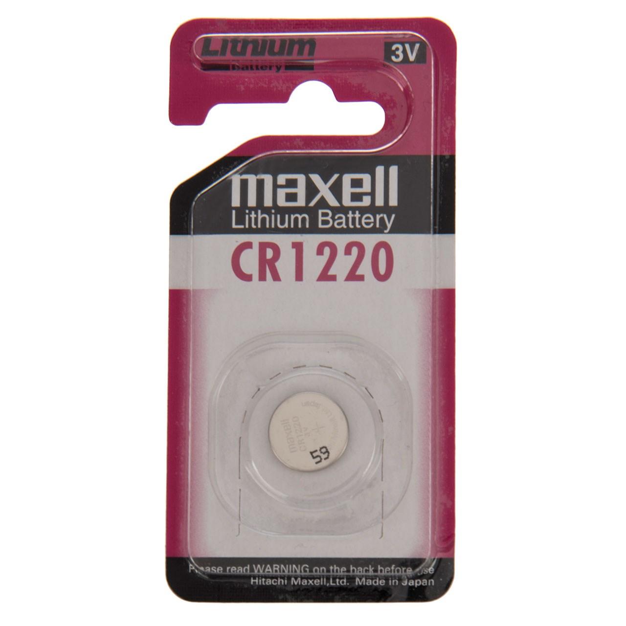 باتری سکه ای مکسل مدل CR1220