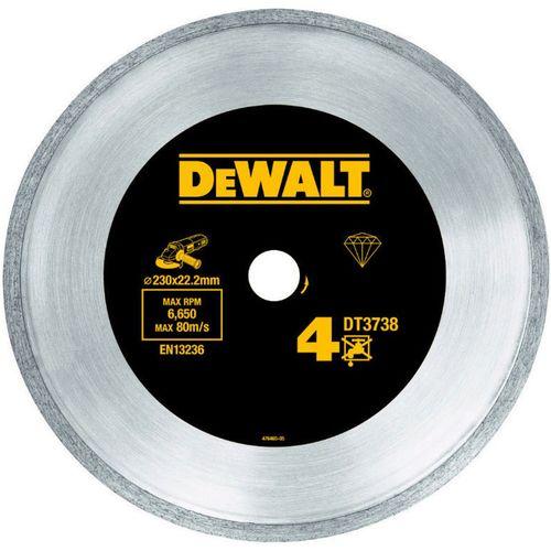 صفحه فرز برش الماسه دیوالت مدل DT3738 مخصوص کاشی