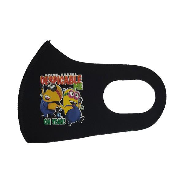 ماسک تزیینی صورت بچگانه طرح DESPICABLE کد 30699 رنگ مشکی