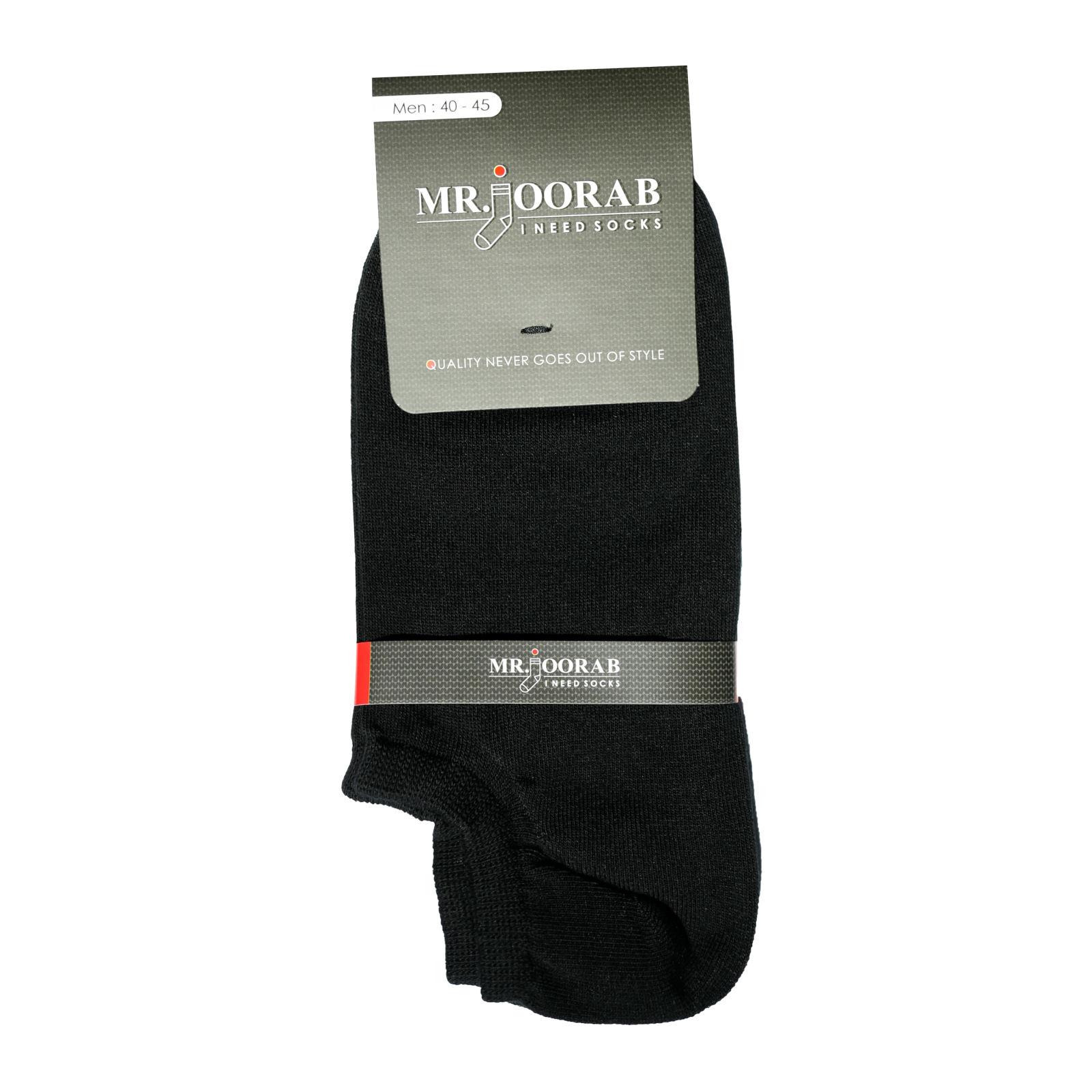 جوراب مردانه مستر جوراب کد BL-MRM 117 مجموعه 6 عددی -  - 4