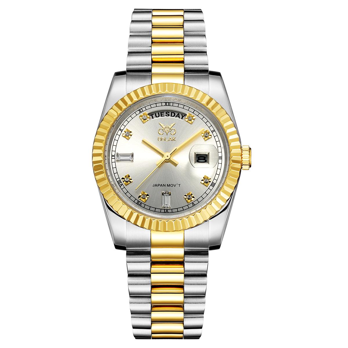 قیمت                      ساعت مچی عقربه ای مردانه اوبلاک مدل 72690