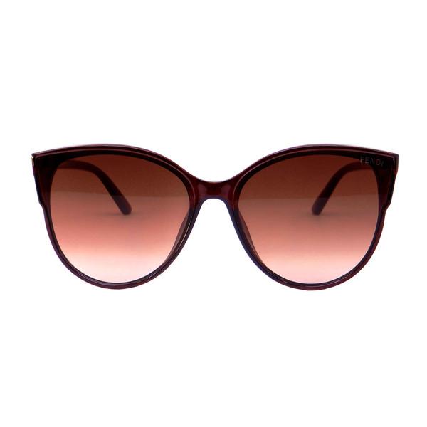 عینک آفتابی زنانه فندی مدل 9908 رنگ قهوه ای