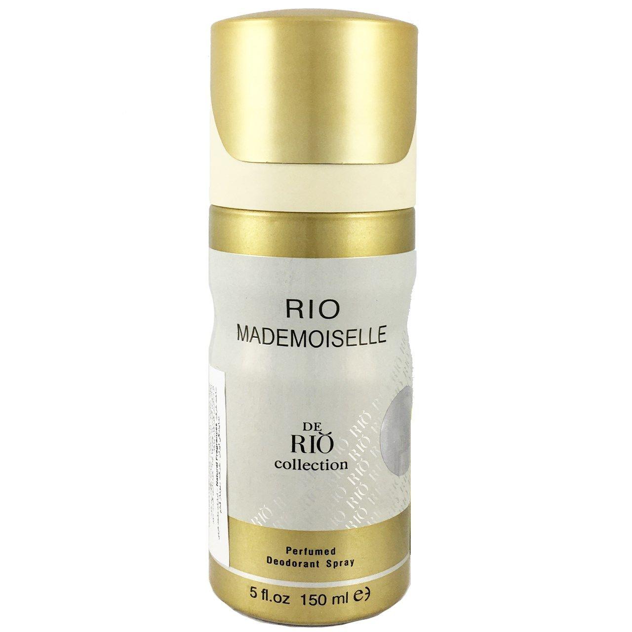 اسپری ضد تعریق زنانه ریو کالکشن مدل Rio Mademoiselle حجم 150ml -  - 1