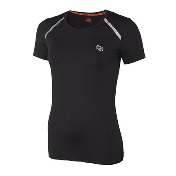 تی شرت آستین کوتاه ورزشی زنانه کرویت پرو مدل lan 283010