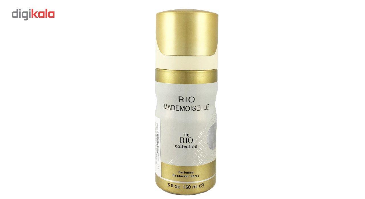 اسپری ضد تعریق زنانه ریو کالکشن مدل Rio Mademoiselle حجم 150ml -  - 2
