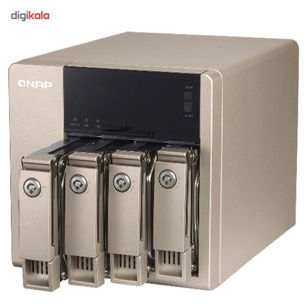 ذخیره ساز تحت شبکه کیونپ مدل TVS-463-4G بدون هارددیسک